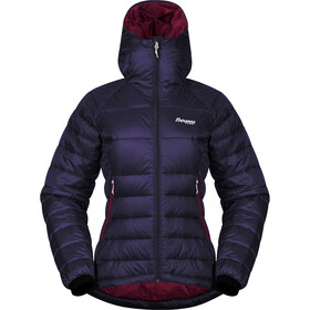 Bergans Slingsby Chaqueta Plumón Light con Capucha Mujer, purple velvet/beet red